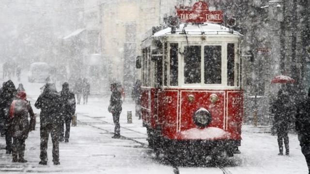 Dikkat ! Meteoroloji saat verip uyardı! Kar geliyor