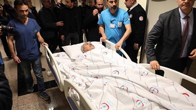 AK Partili Milletvekili Aydın ve eşi trafik kazası geçirdi