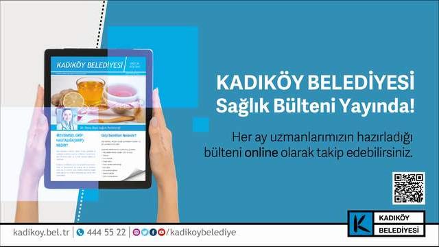 Kadıköy Belediyesi sağlık bülteni yayında