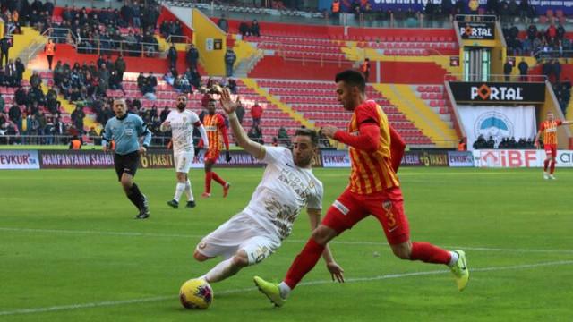 ÖZET | Kayserispor - Ankaragücü maç sonucu: 1-1