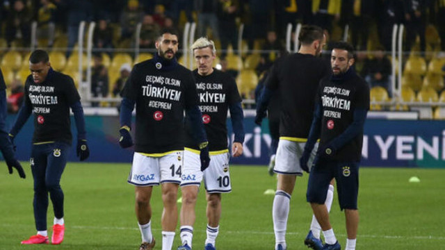 Fenerbahçe'den formalı deprem mesajı; Geçmiş olsun Türkiyem