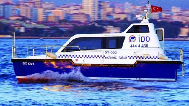 İstanbul'da deniz taksilerinin ruhsatı yok