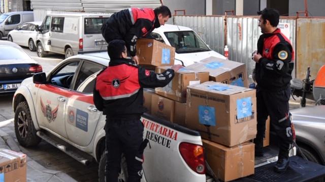 Maltepe Belediyesi'nden Elazığ'a yardım eli