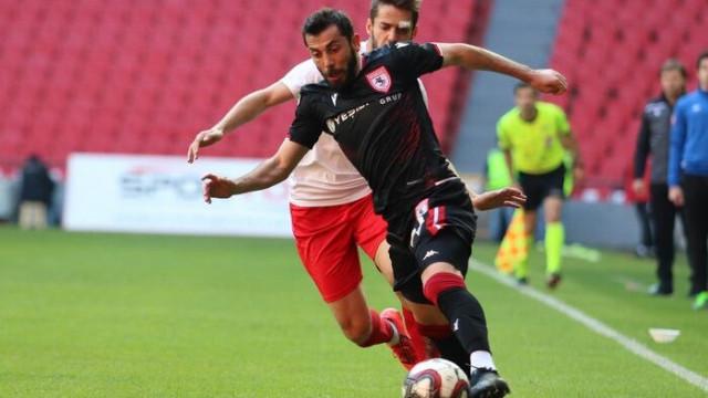TFF 2. Lig: Samsunspor: 2 - Başkent Akademi FK: 0