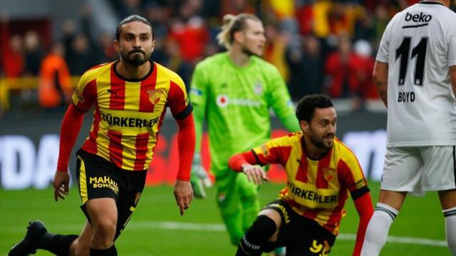 MAÇ SONUCU | Göztepe-Beşiktaş: 2-1 (Süper Lig Puan Durumu)
