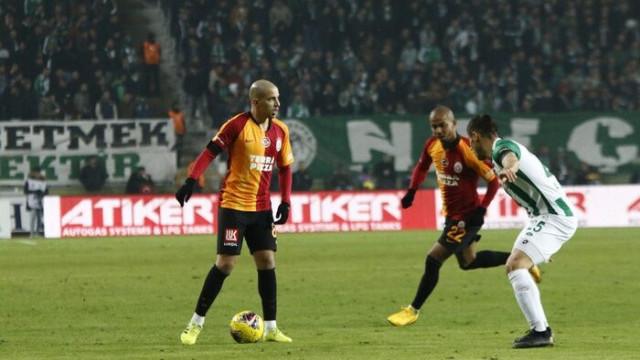 Süper Lig: Konyaspor: 0 - Galatasaray: 3 (Maç sonucu)