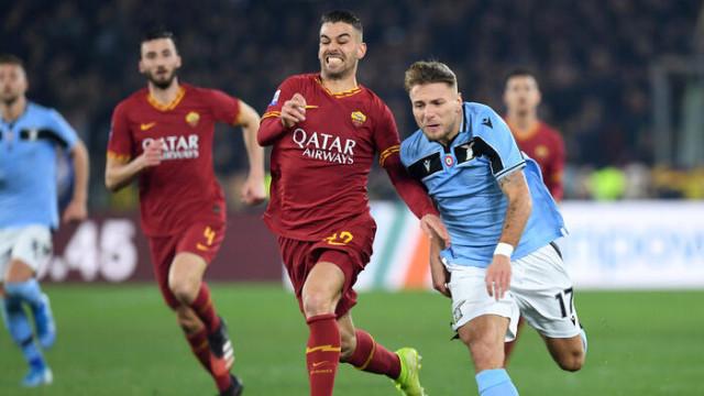 MAÇ SONUCU   Roma-Lazio: 1-1 (Serie A)