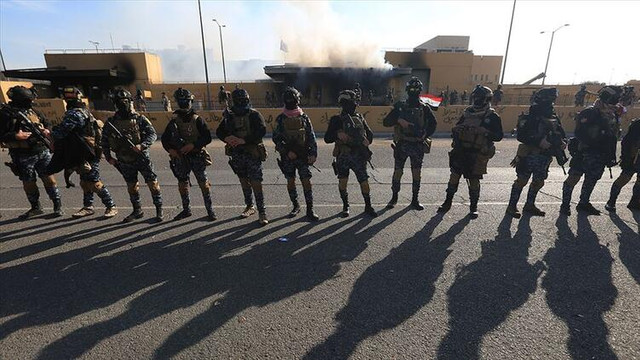 Irak'ta ABD büyükelçiliğine füze saldırısı