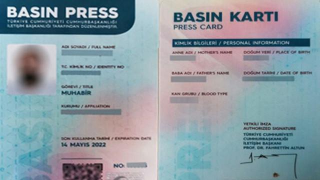 Basın kartlarının iptalinde geri adım