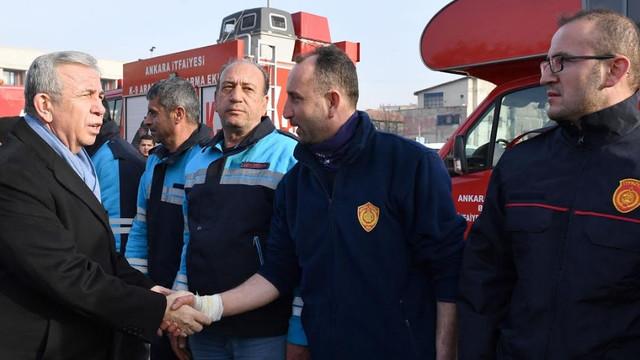 Ankara'nın kahramanlarını Başken'te Başkan Yavaş karşıladı