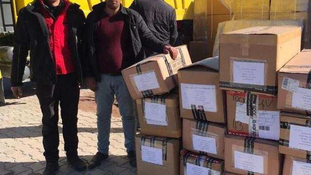 Türkiye Kayak Federasyonu'ndan Elazığ'a yardım