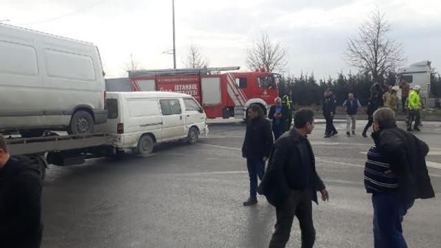 İstanbul'da zincirleme kaza: Yaralılar var !