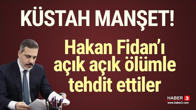 İsrail'den Hakan Fidan'a ölüm tehdidi!