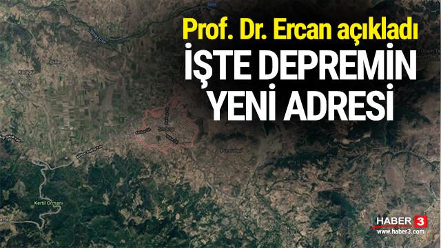 Profesör Doktor Ercan depremin yeni adresini açıkladı !