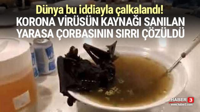 Korona virüsün kaynağı sanılan yarasa çorbasıyla ilgili gerçek ortaya çıktı