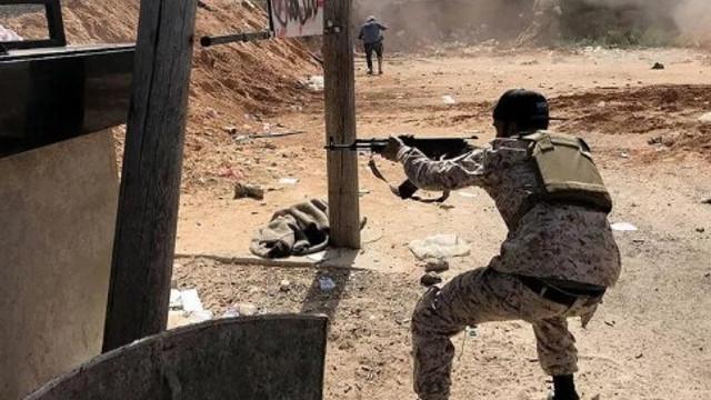 YPG/PKK'lı teröristler Tel Rıfat'tan Afrin'e saldırdı