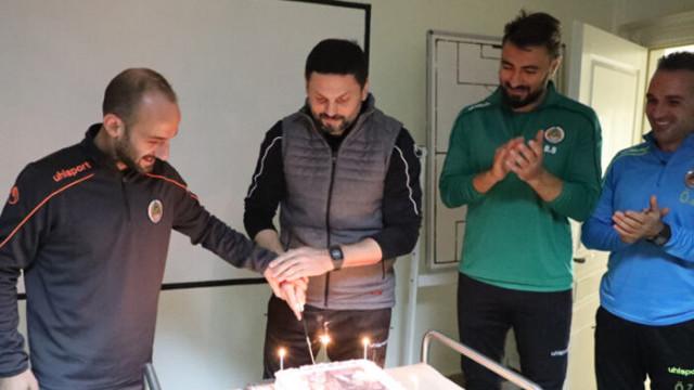 Erol Bulut'a sürpriz doğum günü kutlaması