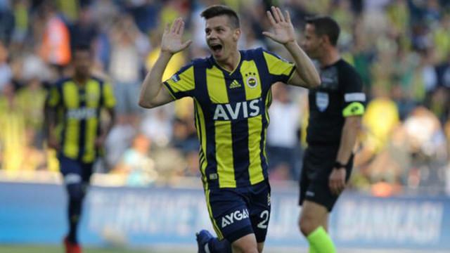 Fenerbahçe'de sakatlığı bulunan Miha Zajc'a İtalyan ekibi Brescia talip oldu
