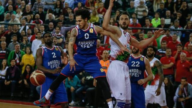 ÖZET | Pınar Karşıyaka: 80 - Anadolu Efes: 82 maç sonucu