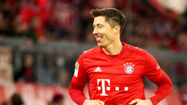 Bundesliga'da ilk yarının en iyi futbolcusu Lewandowski