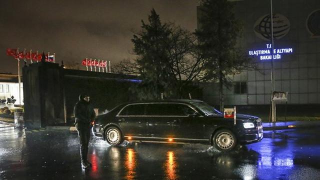 Türkiye'ye gelen Putin Atatürk Havalimanı'na indi!