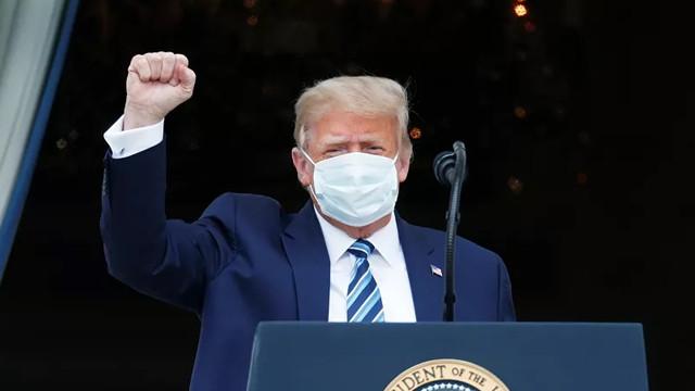 Trump: ''Görünen o ki bağışıklığım var''
