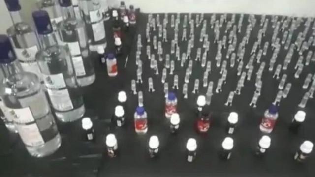 İstanbul'da sahte içki operasyonu! 6 ton kaçak içki ele geçirildi