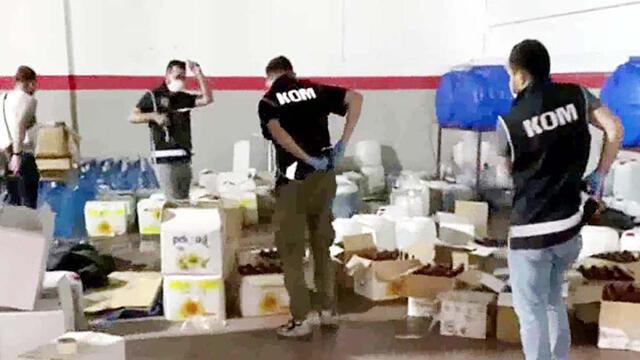 Gaziantep'te sahte içki operasyonu! 13 kişi gözaltına alındı