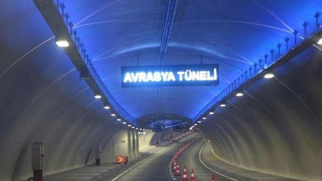 Avrasya Tüneli'nde onarım çalışması