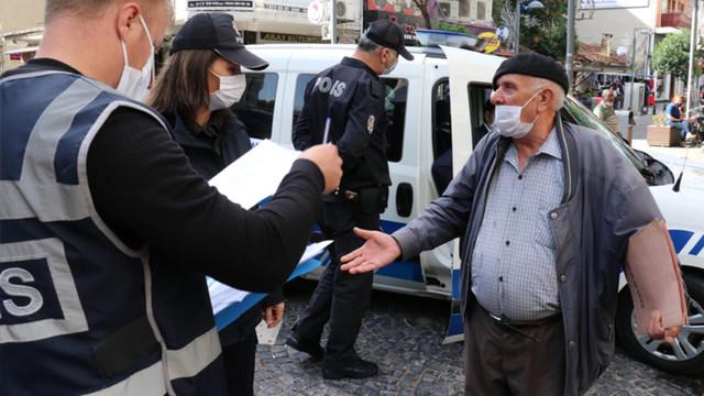 Polis ile vatandaşın maske diyaloğu şaşkına çevirdi