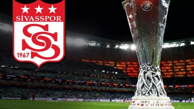Sivasspor'un Avrupa Ligi'ndeki rakipleri belli oldu