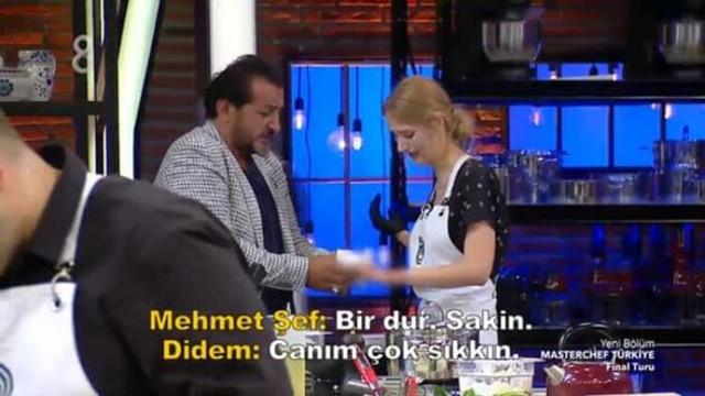 MasterChef Türkiye'den elenen Didem'den ağır sözler