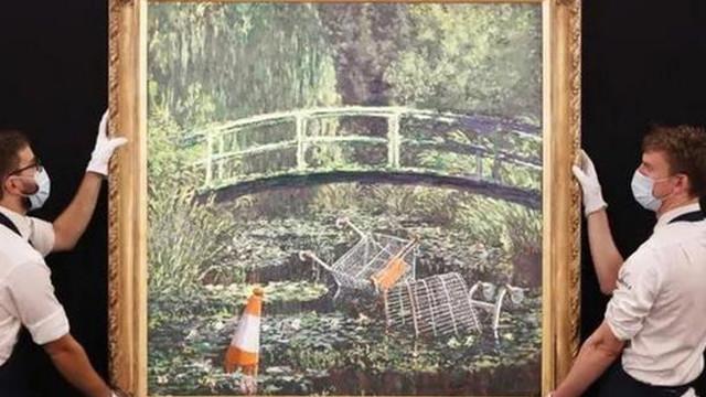 Sokak sanatçısının tablosu rekor fiyata satıldı