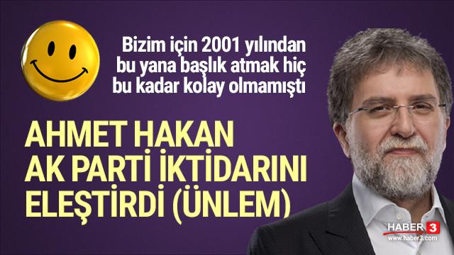 Başımıza taş yağacak! Ahmet Hakan AK Parti'yi eleştirdi