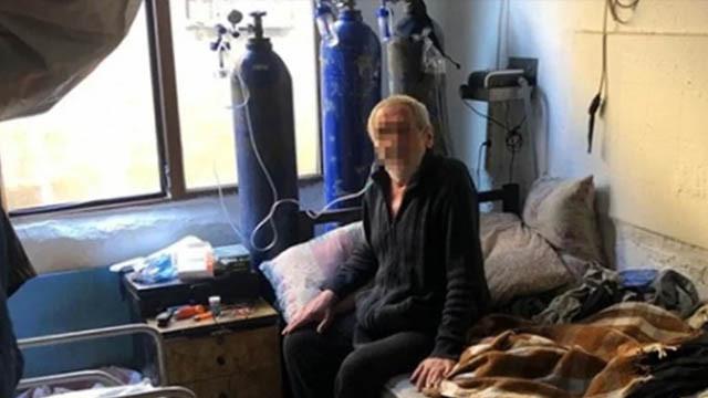 74 yaşındaki ''KOAH hastası'' torbacı yakalandı