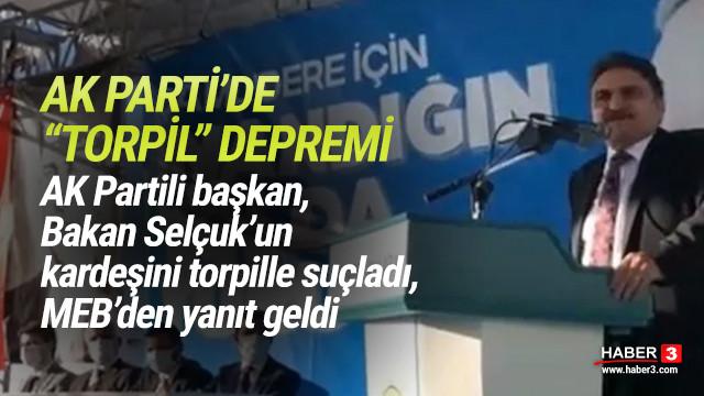 AK Partili başkandan Bakan Selçuk'un kardeşine torpil suçlaması