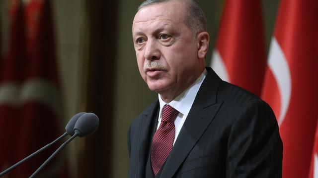Cumhurbaşkanı Erdoğan, İbrahim Çelebi'yi tebrik etti