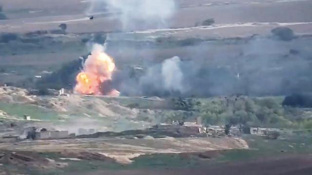 Azerbaycan ordusu Ermeni askerleri geri püskürttü