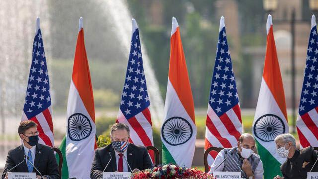 ABD'den Çin'e karşı Hindistan'la yeni iş birliği