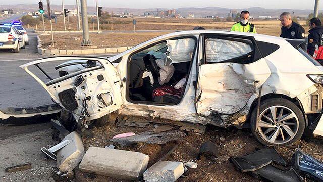 Çorum'da feci kaza: 2 ölü