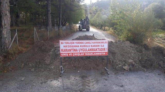 Denizli'de bir mahalle daha karantinaya alındı