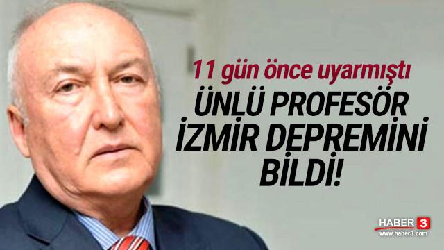 Ünlü profesör İzmir depremi için günler önce uyarmıştı