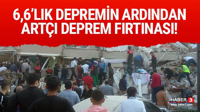 İzmir'in ardından Aydın'da 5.1 büyüklüğünde deprem