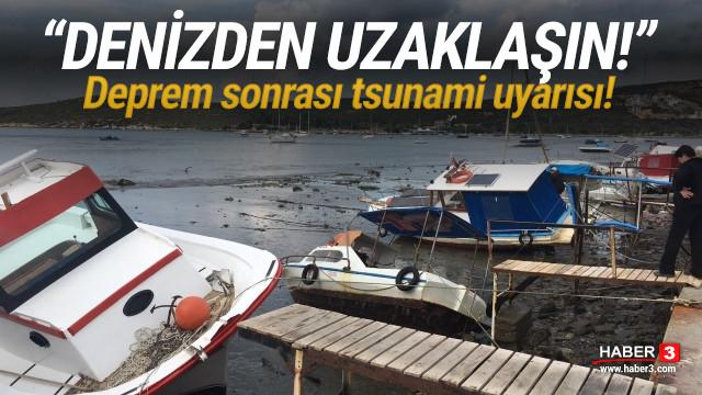 Depremin ardından tsunami uyarısı: Denizden uzaklaşın!