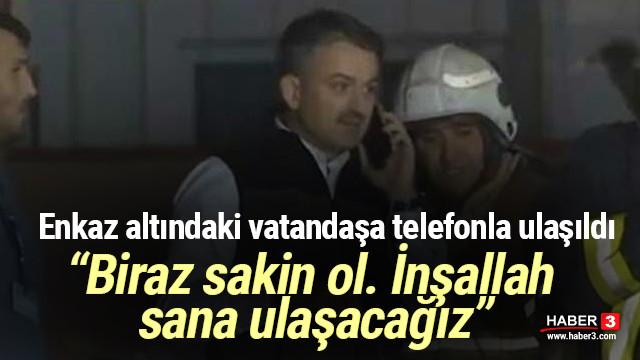 İzmir'deki depremde enkaz altında kalan vatandaşa böyle ulaşıldı