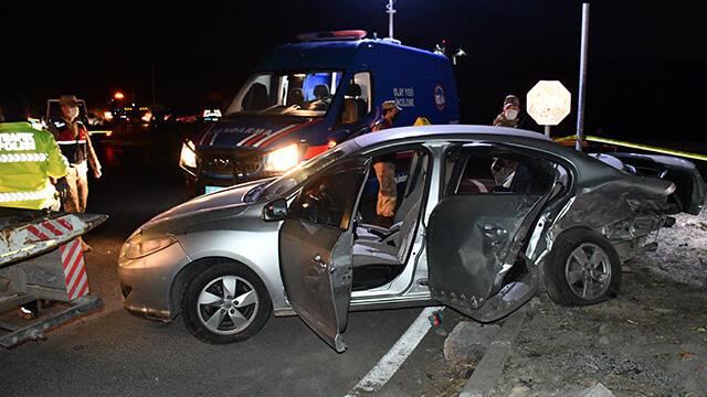 Sivas'ta feci kaza: 2 ölü, 4 yaralı