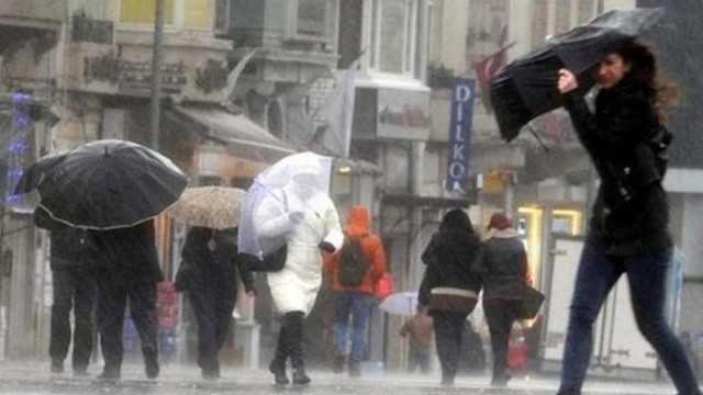 Havalar daha da soğuyacak! Meteorolojiden kuvvetli yağış uyarısı!