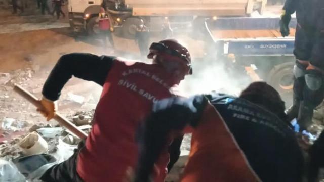 Kartal Belediyesi Sivil Savunma Ekipleri İzmir'de