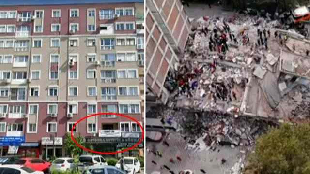 İzmir'de yıkılan apartmanda ''bomba kat'' detayı!