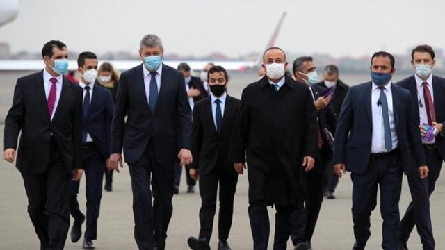 Dışişleri Bakanı Çavuşoğlu'ndan Azerbaycan'a ziyaret